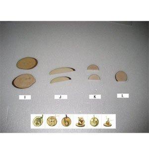 만들기재료/교육용교재/그리기나무조각/천연나무조각(I.J.K.L)