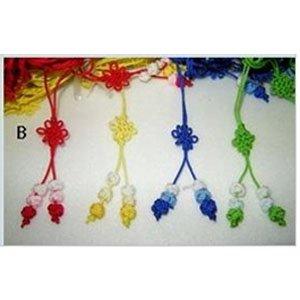 만들기재료/꾸미기재료/리본공예/전통매듭공예/국화매듭 B형10cm(10개입)