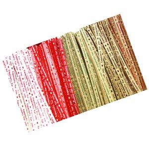 포장부자재용품/고급종이타이/칼라타이/칼라포장끈/빵끈/철끈 10cm