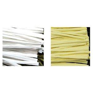 포장부자재용품/한지종이타이/칼라타이/칼라포장끈/빵끈/철끈 12cm