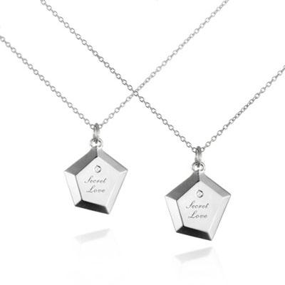SecretStone The Stone Couple Pendant _Diamond