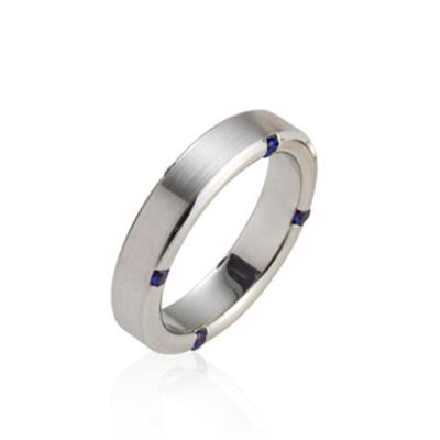 Guidance 가이던스반지 (대) 14k_WG blue sapphire