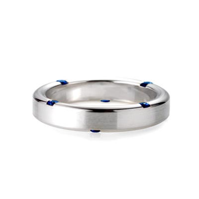 Guidance 가이던스반지 (소) 14k_WG blue sapphire