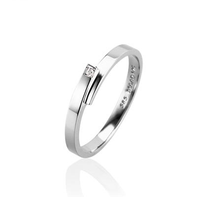 Covering 커버링 MG (소) 14k_WG white diamond
