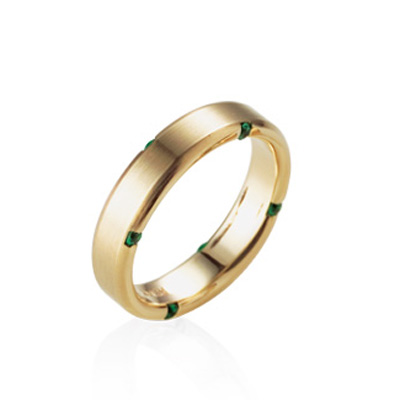 Guidance 가이던스반지 (대) 14k Emerald