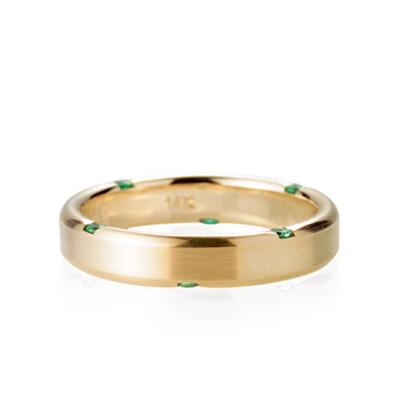 Guidance 가이던스반지 (소) 14k Emerald