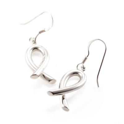 Silver fish 은어 고리 귀걸이 (중)
