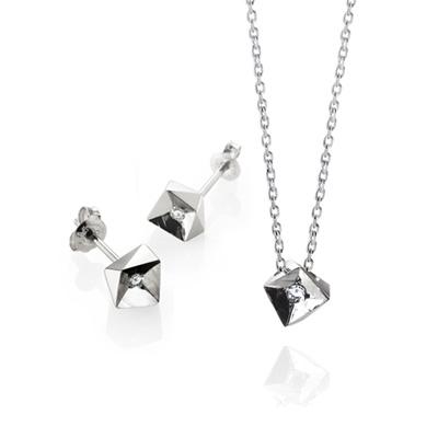 Crystalloid III 결정III Set white zircon