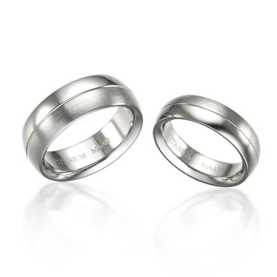 TitaniumGold 잉글리쉬 심플밴드_1L 티타늄 커플링 (6,8mm)_Titanium