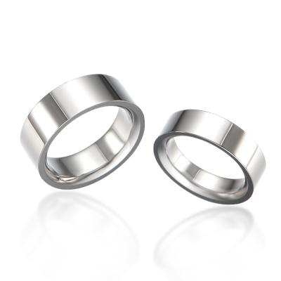 TitaniumGold 게르만 심플밴드 티타늄 커플링 (6,8mm)_Titanium