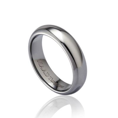 TungstenGold 잉글리쉬 심플밴드 텅스텐반지 (5mm) _Tungsten