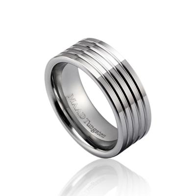 TungstenGold 게르만 심플밴드 텅스텐반지_4L (8mm) Tungsten