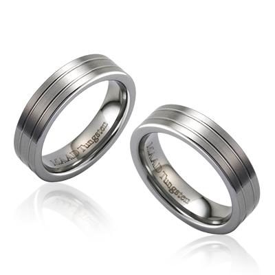 TungstenGold 게르만 심플밴드 텅스텐 커플링_2L_Satin (5,5mm) Tungsten