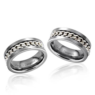 TungstenGold 게르만 체인밴드 텅스텐 커플링 (7,7mm) Tungsten & Silver
