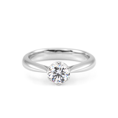 Maad Bridal Frise 0.5 ct Solitaire Ring 18k_WG
