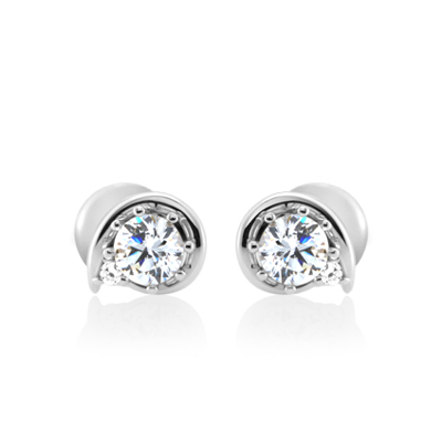 Maad Bridal Philia II 0.2ct Earring18k_WG
