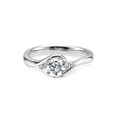 Maad Bridal Philia II 0.5ct Ring 18k_WG