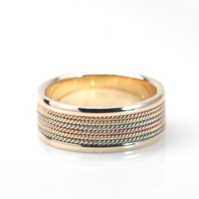 Goldschmuck Roman wired Ring (대) 14k