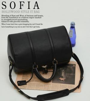 [토모걸]소피아 코폴라백 [이태리 베이비 카프스킨] 블랙