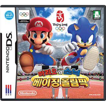 닌텐도 DS 마리오와소닉 베이징 올림픽