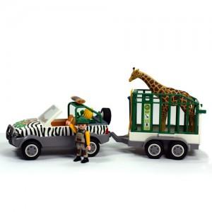플레이모빌 동물운송차와 기린(4855)