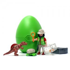 플레이모빌 과학자와 아기공룡(4925)