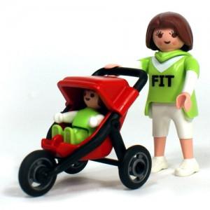 플레이모빌 엄마와 유모차(4697)