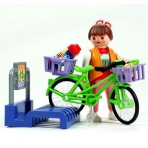 플레이모빌 주근깨아가씨와자전거(3203)