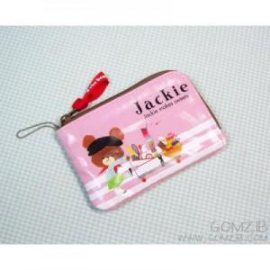 재키 카드 미니지갑(핑크)