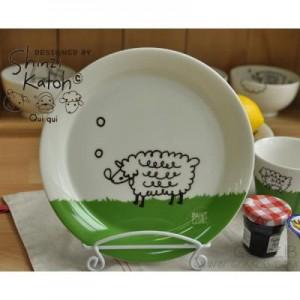 신지카토 페인트클럽 접시(양)
