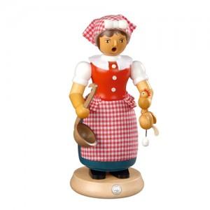 스모킹맨 / 요리하는 여인, 24Cm - 16665