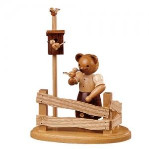 베어, 정원 펜스에 있는 곰, 12cm - 45194