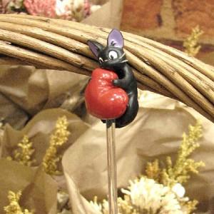 꽃 픽(지지와 큰하트) - 마녀배달부키키