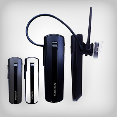 [SOLOZEN]SO-0490 블루투스 모노헤드셋 통화전용 버전 2.1 충전중통화가능
