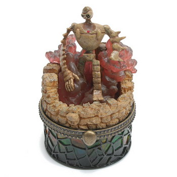 스테인드글라스보석함(라퓨타로봇) - 천공의 성 라퓨타