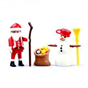 플레이모빌 산타와 눈사람(4890)