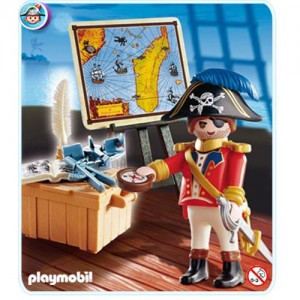 플레이모빌 해적선장(4293)