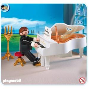 플레이모빌 피아노연주자(4309)