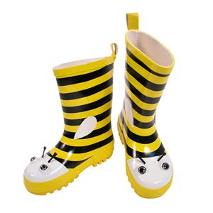 [키도러블] 꿀벌 장화 친환경소재 신학기선물 장마대비 우비 우산 키도레이블