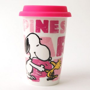 스누피 에코컵- 핑크