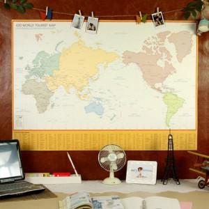 420 World Tourist Map