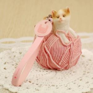 애니멀 도트 스트랩_핑크 Animal Dot Strap_Pink