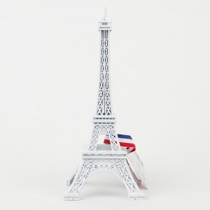에펠탑 피규어 화이트 대