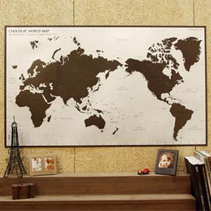 CHOCOLAT WORLD MAP