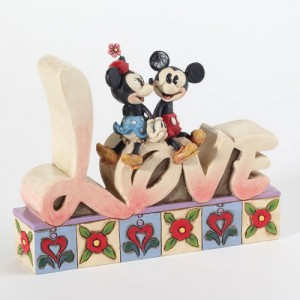 [Disney] 미키마우스: Love Word Plaque (4027140)
