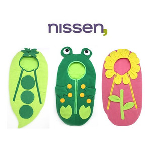 Nissen 닛센 유아동 침낭 동식물 3종 택1