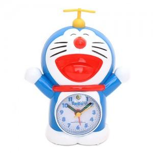 (도라에몽 정품) 도라에몽 인형 알람시계(양손)