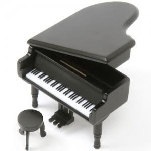 그랜드 피아노 오르골(블랙)