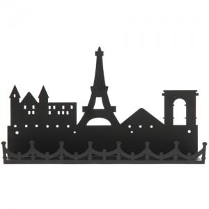 모던 시티선반 파리에펠탑(블랙)