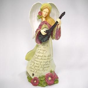 (Enesco 정품) 기타치는 천사상
